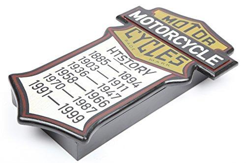 point-home Schlüsselkasten Schlüsselschrank Schlüsselbox Retro-Design Holz - 3