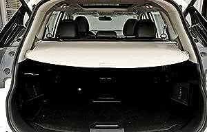 High Flying Für X Trail T32 2014 2019 Metall Kofferraum Schutz Abdeckung Laderaumabdeckung Flexibel Beige Auto