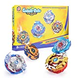 Best Estadios de beyblade - 4 Pcs Conjuntos de Metal de Gyro 4D Review