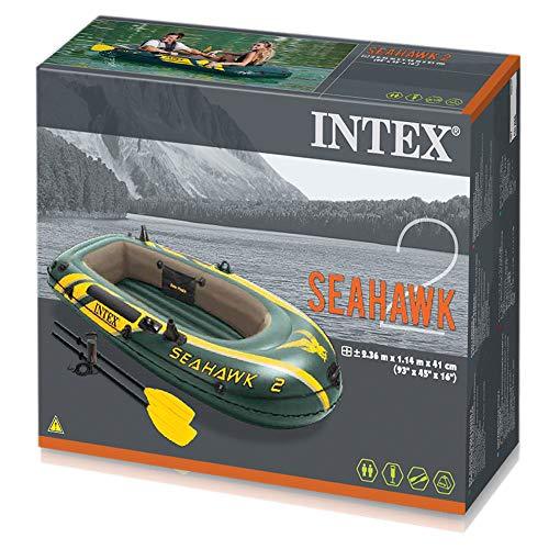 Intex Schlauchboot Seahawk 2 im Set im Test - 5