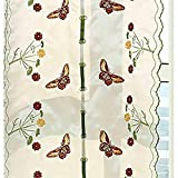 CURTAINS Zhang-Yuan Tian Shutter Tuch Vorhänge Schlafzimmer Kurz Küche Restaurant Raffrollos Aufzug 80 * 180cm Dekoration Ping Wei