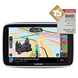 TomTom Car Sat Nav GO Premium 6 Inch with Updates via Wi-Fi, Lifetime Traffic and Speedcam Warnings via SIM Card, World Maps, Last Mile Navigation and IFTTT