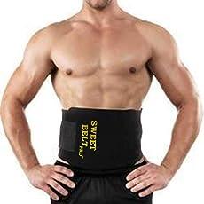 Sweat Belt Premium Waist Trimmer Slimming Sweat Belt, Rapid Sweat Waist Trimmer Fat Burner