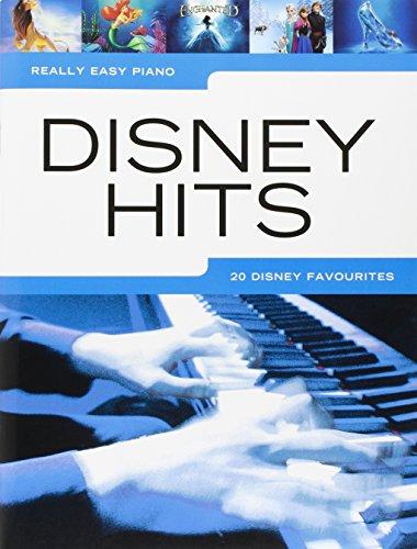 Really Easy Piano: Disney Hits: Songbook, Klavierpartitur für Klavier (Disney Piano Songbook)