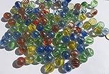 Bunte Glasmurmeln Glaskugeln 16mm Durchmesser 500gr Dekokugeln Murmel Dekoration Glaskügelchen