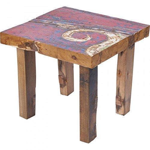 KOH DECO Table Basse Cupak en Bois de Bateau recyclé
