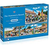 Gibsons The Postman's Round jigsaw puzzle. (4x500 pieces)