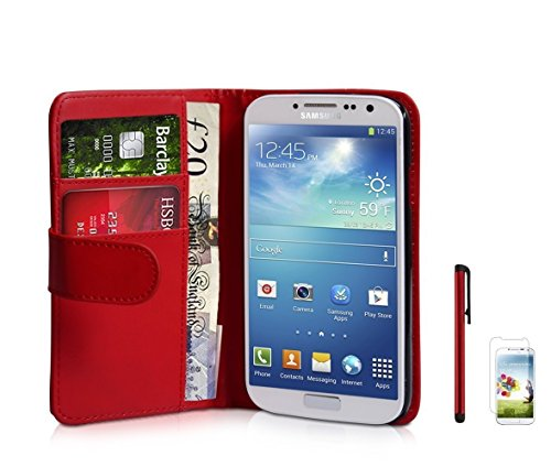flip-wallet-leather-case-for-samsung-galaxy-s4-i9500-free-screen-protector-stylus-pen