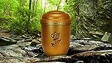 """Biologisch abbaubar Verbrennung Asche Urne–Erwachsenen-Größe–Antik Gold Design–""""Irish Golden Rose"""""""