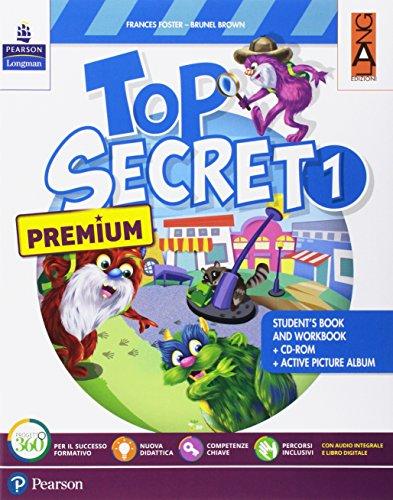 Top secret. Premium. Per la Scuola elementare. Con espansione online. Con CD-ROM: 1 di Frances Foster
