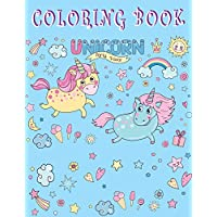 Unicorn coloring book party favor: With Magical and Beautiful Unicorn Designs