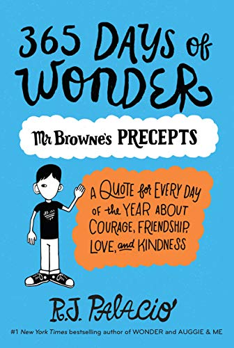365 Days Of Wonder Mr Browne S Precepts English Edition
