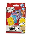 The Simpsons Don't Be a Donut! Gioco di Carte (Versione Inglese)