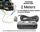 Complete Hardwire Laisse pour Thinkware H50 Enregistreur, F50, x330, X350, X500, X550, F750, F770, F800 (2 meters)