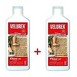 VELUREX Cleaner Star SUPER AZIONE SANIFICANTE - 2 confezioni da 1L cad. - Detergente sanificante multiuso adatto alla pulizia di pavimenti in legno verniciati. Idoneo anche per pavimenti in PVC, linoleum, melamminici, marmo, resina, etc.