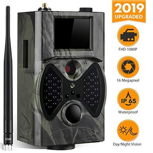 Suntek Trail de Chasse Camera 12MP HD 1080P HC-300M Wildlife Vidéo PIR Camera Remote Controller wireless 2G 36 IR LED MMS/SMS/SMTP/FTP SIM