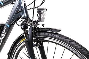 "28"" Zoll FISCHER Alu Herren Elektro Fahrrad E-Bike Pedelec Trekking Shimano 24 Gang 48V"