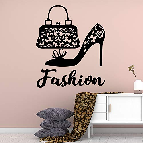 Cute Hair Salon Art House Decorazione Moda Moderna Moda Barbiere Sticker Bagno Decalcomania da muro ~ 1 42 * 50cm