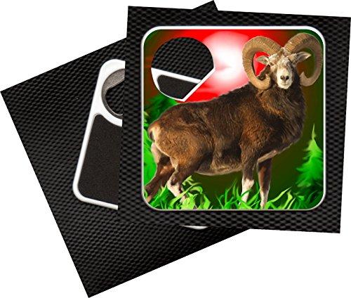 Kapselheber Kronenöffner/Untersetzer Jagd Wild - Mufflon