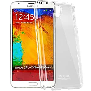 Imak Crystal Transparent Samsung Galaxy Note 3 Neo N7505 Flip Thin Hard Bumper Back Case Cover