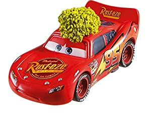 Mattel Disney Cars fll84 Disney Cars Die-Cast Steppe Camino Lightning Mcqueen