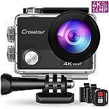 Camcorder Soundlogic Action Cam Action Pro 1080p Ultra Hd Sportkamera Wasserdicht 30 Meter