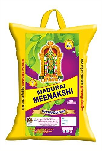 Madurai Meenkashi R3 Sona Masuri Rajabhogam Ponni Boiled Rice 5Kg