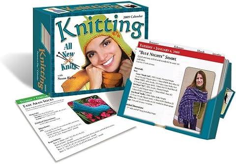Knitting Pattern-a-Day 2009 Box Calendar