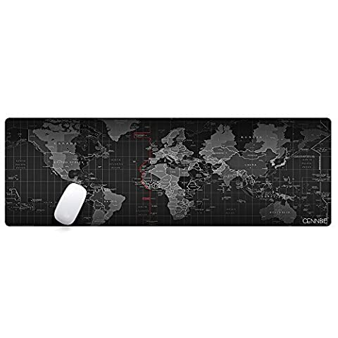 CENNBIE Professionelle Große Maus Pat & Computerspiel Mauspad 35 × 12in Computer Schreibtisch Briefpapier Zubehör Mause Pads