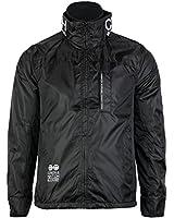 Mens Crosshatch Winston Double Zip Up Cuffed Outdoor Jacket Coat Top
