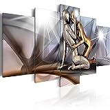 murando - Bilder 225x112 cm - Leinwandbilder - Fertig Aufgespannt - Vlies Leinwand - 5 TLG - Wandbilder XXL - Kunstdrucke - Wandbild - Figuren Gestalten h-A-0019-b-m