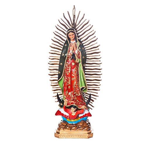 FANMEX - Fantastik - Figura Religiosa Mexicana - Estatua Virgen de Guadalupe 50 cm