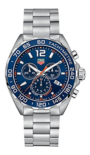 Tag Heuer Formula 1Hombre 43mm Saphire Cuarzo Reloj caz1014.ba0842