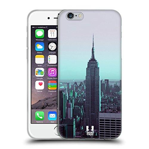 Head Case Designs Big Ben Tour De L'horloge Londres Meilleurs Endroits - Collection 2 Étui Coque en Gel molle pour Apple iPhone 4 / 4S Empire State Building Manhattan New York