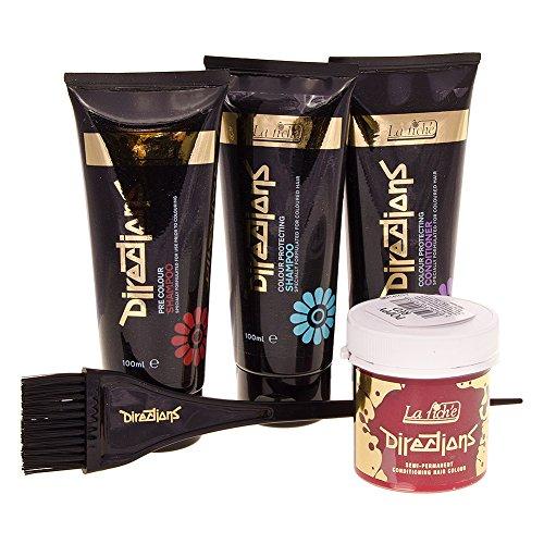 La Riche Directions Colour Kit Shampoo, Hair Dye & Conditioner 100ml-Poppy Red (Alternative Shampoo Und Conditioner)
