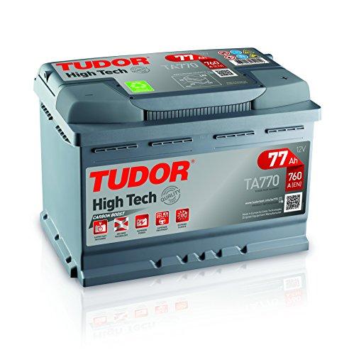 Batteria per Auto Tudor Exide high-tech 77Ah, 12V