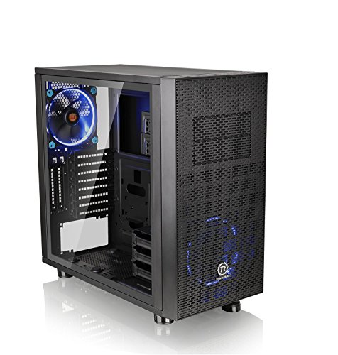 Thermaltake Core X31 TG Edition Midi-Tower Black computer case - Computer Cases (Midi-Tower, PC, SPCC, Tempered glass, ATX,Micro-ATX,Mini-ATX, Black, 4 mm)