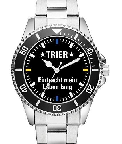 Trier Eintracht Geschenk Fan Artikel Zubehör Fanartikel Uhr 2560