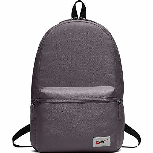 2f1ce36fd3 Nike Sportswear, Backpack Uomo, Thunder Grey/Black/Orange Blaze, Taglia  Unica