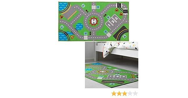 c87937870750ec FAST WORLD SHOPPING TAPPETO PER STANZETTA GIOCO BIMBI PISTA MACCHININE TRENINO  TAPPETINO CAMERETTA: Amazon.it: Giochi e giocattoli