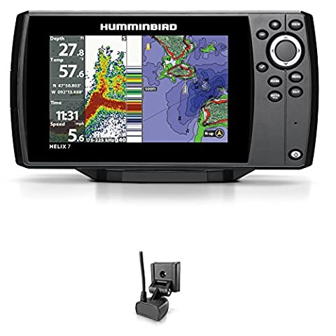 Humminbird Helix 7Chirp Fishfinder GPS G2Nautical Chart Plotter Combo Fixed
