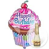 Riesenballon HB Cupcake und Freixenet Semi Seco