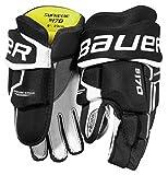 Bauer Supreme S170 Handschuhe Bambini, Größe:9 Zoll;Farbe:schwarz/weiß