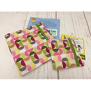 Pixibuch Hülle RETRO rosa Hülle für original Pixibücher und Maxi Pixi