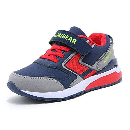 Sneaker Kinder Laufschuhe Jungen Hallenschuhe M?Dchen Turnschuhe Outdoor Leicht Sportart Schuhe f¨¹r Unisex-Kinder Blau