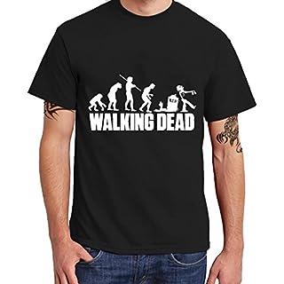 Acen Merchandise The Walking Dead - Coole T-Shirt Tee Herren, Schwarz, 100% Baumwolle