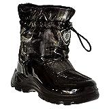 Naturino Varna - Rain Step - Kinderstiefel - Winter Mädchen Stiefel schwarz Gr. 32