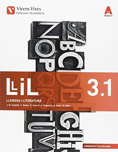 LLIL 3.1 VAL (LLENGUA I LITERATURA ESO) AULA 3D: 000001 - 9788468230962