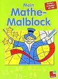 Mein Mathe Malblock - Rechenaufgaben bis 100