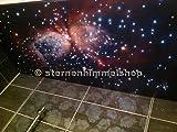 Cielo stellato LED 160 fibre ottiche bianco NUOVO
